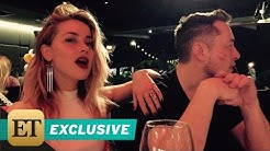 EXCLUSIVE: Inside Amber Heard and Elon Musk's Romance Source Says He's 'Very Attentive' to Her