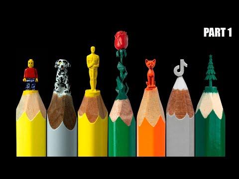 Best TikTok video about carving pencils DIY CRAFTS