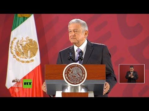 """AMLO: Evo Morales """"debe sentirse en México como en su casa"""""""