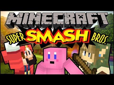Minecraft SUPER CRAFT BROS BRAWL - Smash Bros PvP
