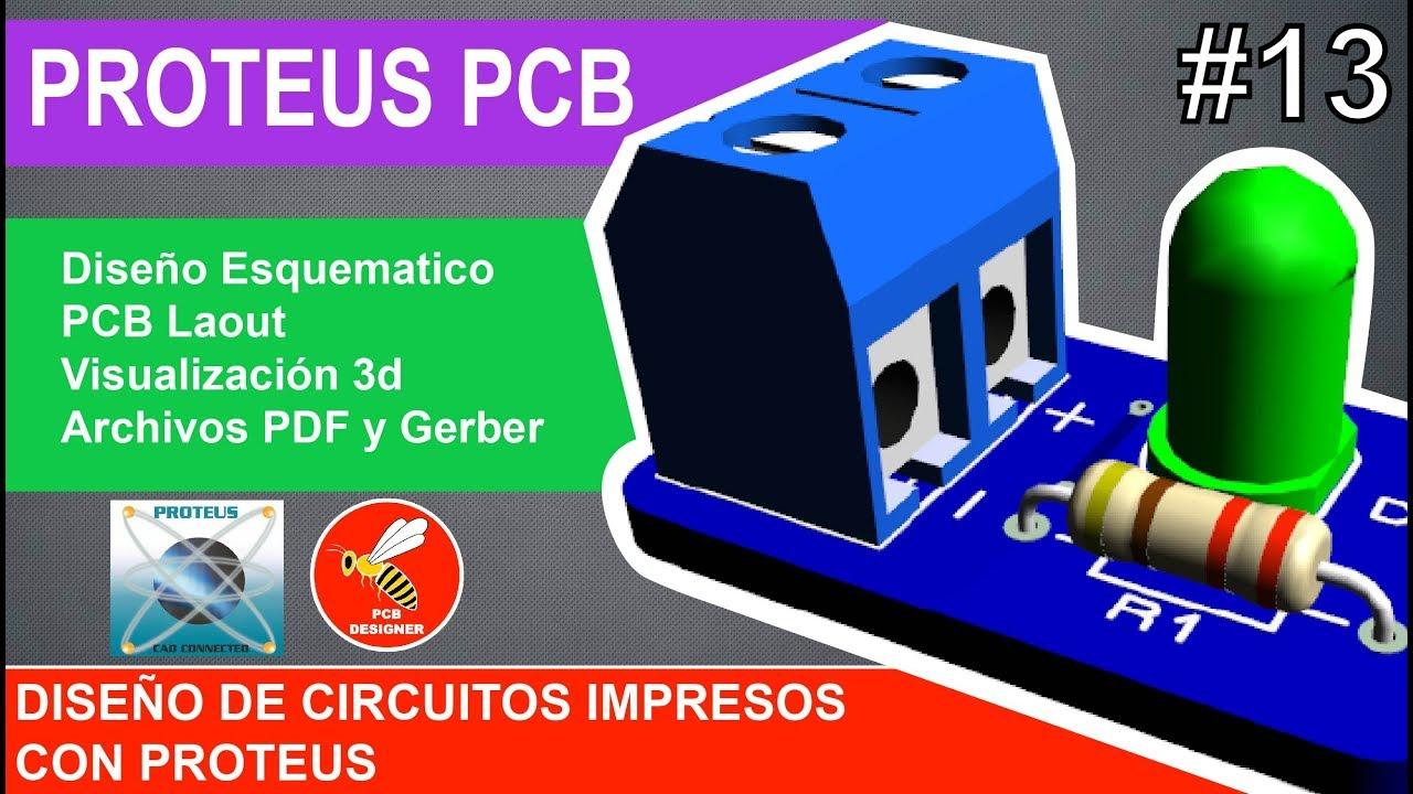 13 Curso Proteus Pcbway Fabricacin De Pcbs Youtube Printed Circuit Board Manufacturepcb Pricefaqpcb Manufacturer Pcb Designer