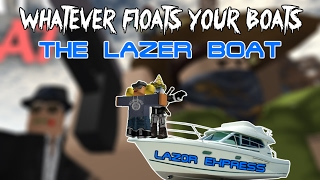 [Roblox] Whatever floats your boat (Building a boat)