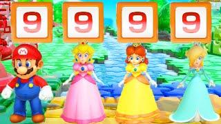 Super Mario Party - Mario vs Peach vs Rosalina vs Daisy (Master Difficulty)