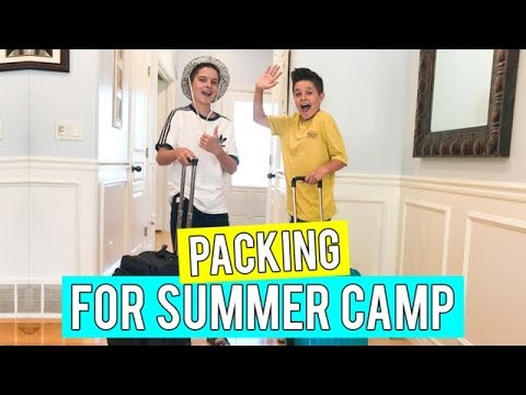 Packing for Summer Camp | Brock and Boston
