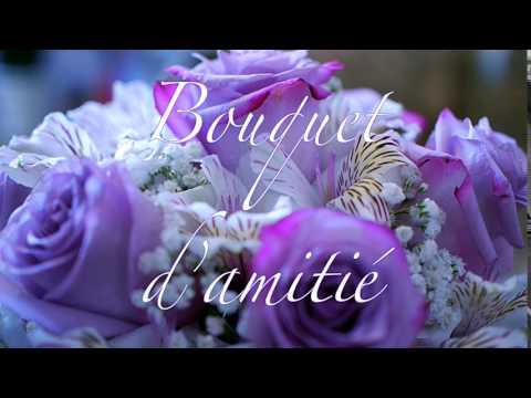 Bouquet amitie Joliecarte com - YouTube