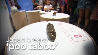 Japan breaks 'poo taboo' with exhibition focused on faeces