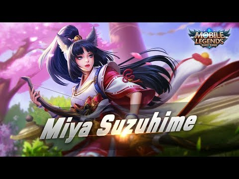 Mobile Legends: Bang Bang! Miya New Skin  Suzuhime - YouTube