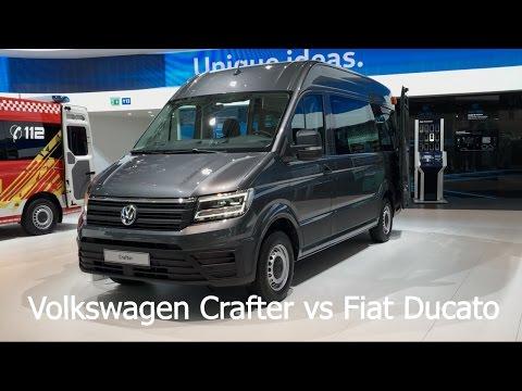 Volkswagen Crafter Bus 2017 vs. Fiat Ducato Bus 2017