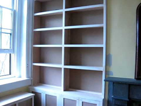 Built In Bookcases Radiator Cover