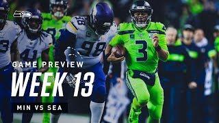 2019 Week 13: Seahawks vs Vikings Preview