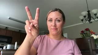 #49 Deaf Английская Азбука для глухих