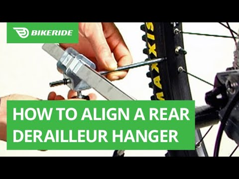 How to Align a Rear Derailleur Hanger (with Video) | BikeRide