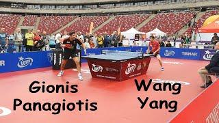 Gionis Panagiotis vs Wang Yang - two defenders 2019