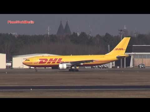 DHL (European Air Transport) Landung Airbus A300 Berlin-Tegel