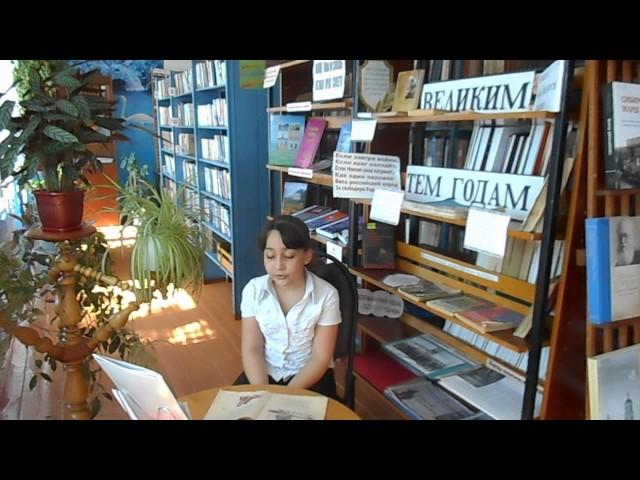 Изображение предпросмотра прочтения – ДаринаПотапенко читает произведение «Хотят ли русские войны?» Е.А.Евтушенко