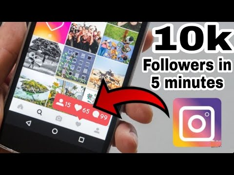 How to get INSTAGRAM FOLLOWERS very FAST 2019 | Without Login