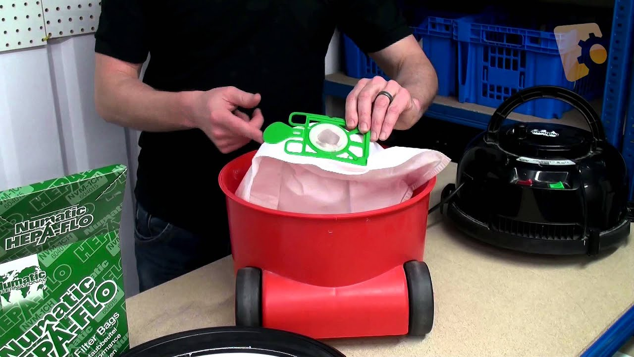 About Henry Vacuum Cleaner Bags Amp How To Replace Youtube