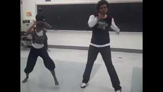 Vandy and Desi - Diwali AIS 2010 Rehearsal