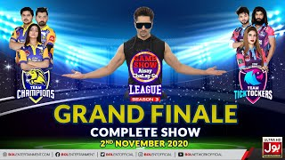 Game Show Aisay Chalay Ga League Season 3 | Grand Finale | 2nd November 2020 | Complete Show