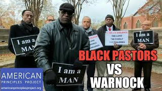 BLACK PASTORS vs Warnock| MEN OF GOD STAND YOUR GROUND