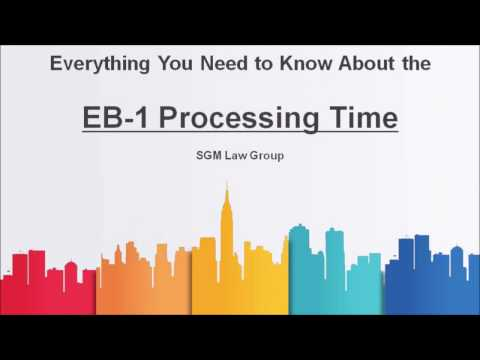 EB1 Processing Time for 2017