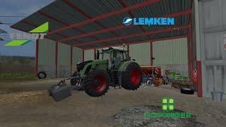 [FS15] Fendt 939 + Lemken Achat Z8