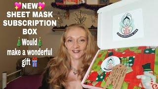 New face mask subscription box Would make the perfect Gift Facemasksclub
