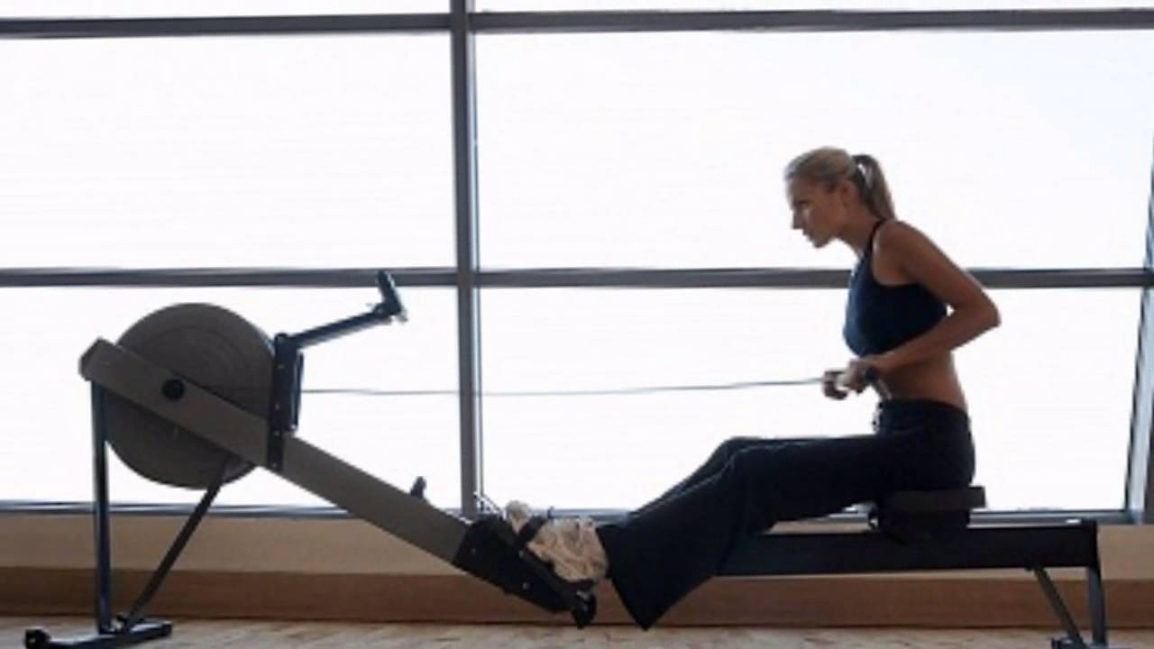 interactive rowing machine