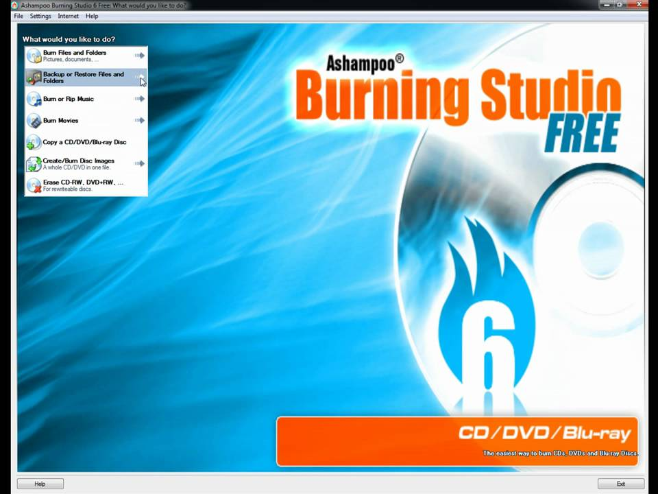 ashampoo burning studio 6 free 6.80 free download