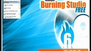 Ashampoo Burning Studio 6 Free Edition Review