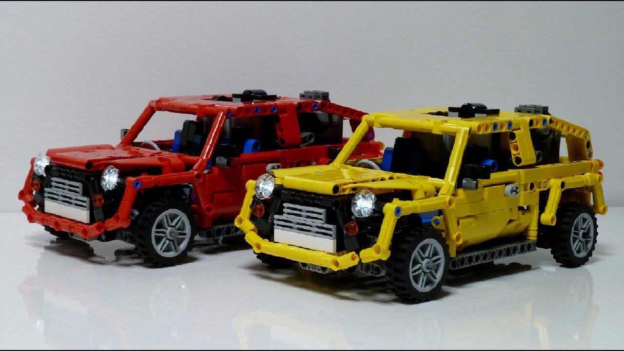 Lego Technic Mini Car Youtube