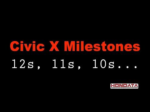 10th Gen Civic X Milestones to Date - Hondata FlashPro