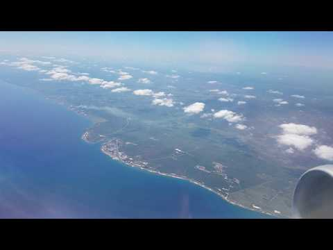 Delta 650 Takeoff Havana to Miami 2017