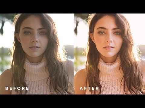 How To Edit Golden Hour Portraits: Lightroom Tutorial