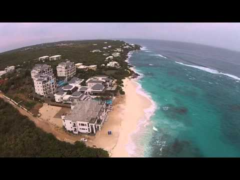 Shoal Bay beach, Anguilla taken from DJI Phantom Drone