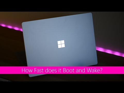 Thumbnail: Surface Laptop Boot, Wake and Resume times speed test. How well tuned is the hibernation