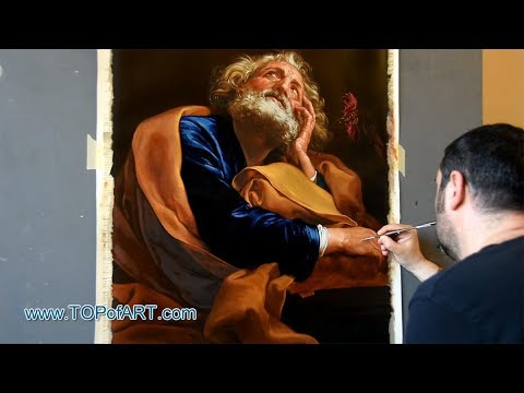 Saint Peter - Batoni | Art Reproduction Oil Painting
