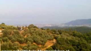 Prachtig uitzicht op de bergen in de omgeving ( Bloemenriviera, Italie )