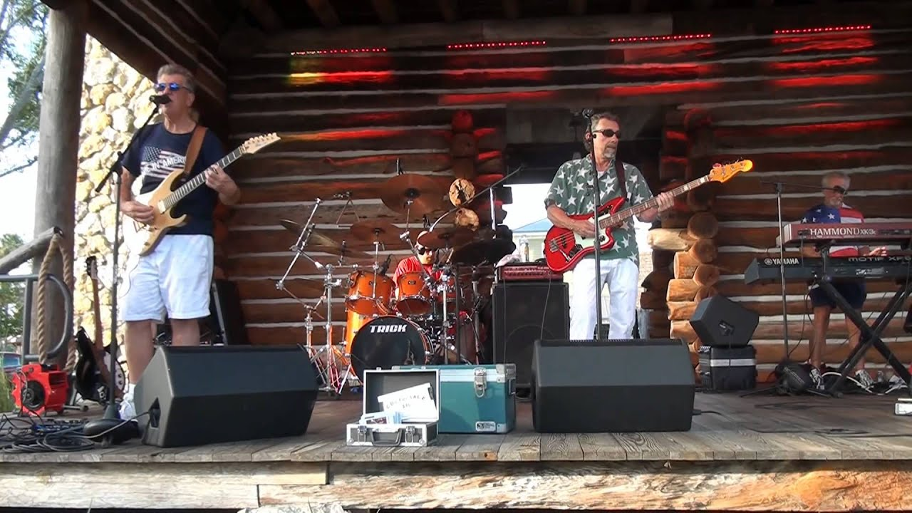 CACTUS JACK & THE CADILLACS performing LOUIE LOUIE at THE VILLAGES