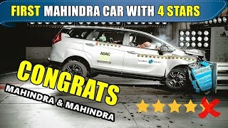 Mahindra's first safest car with this much ratings | mahindra marazzo crash test results out