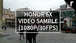 Honor 6X video sample (1080p/30fps)