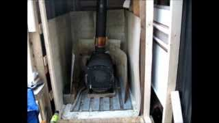 Installing Heat Shielding In My Stove Shed And Survival Trip Recap