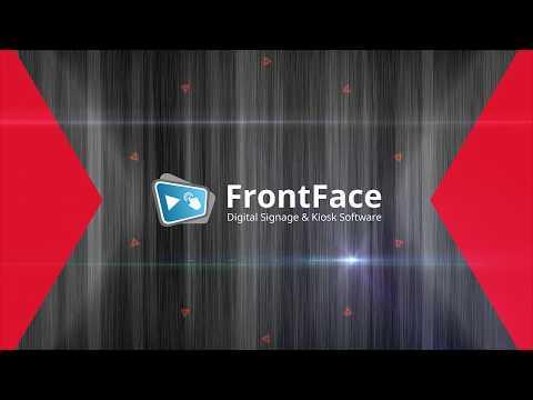 FrontFace 4 - Digital Signage & Kiosk Software (English)
