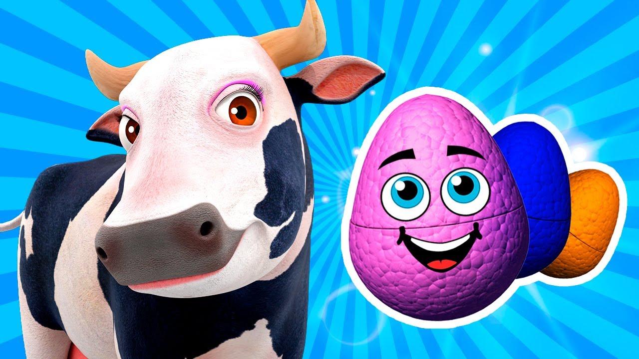Mix Ovos Surpresa para Brincar! | A Fazenda do Zenon