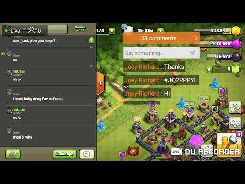 Recruiting Members For Next War (Clash Of Clans