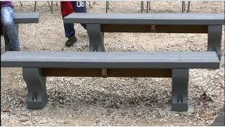 Quality Outdoor Wood Products Benches At Wehr Nature Center