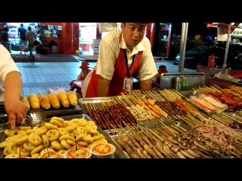 Donghuamen Night Market in Beijing