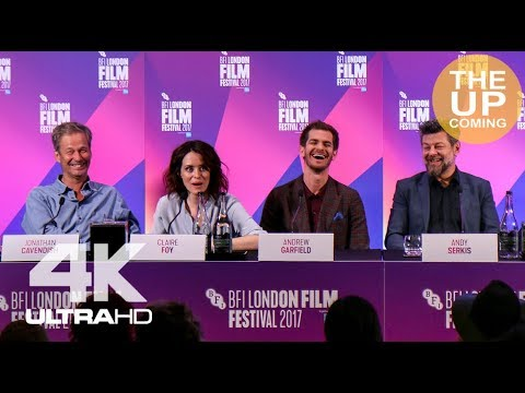 Breathe press conference: Andrew Garfield, Claire Foy, Andy Serkis