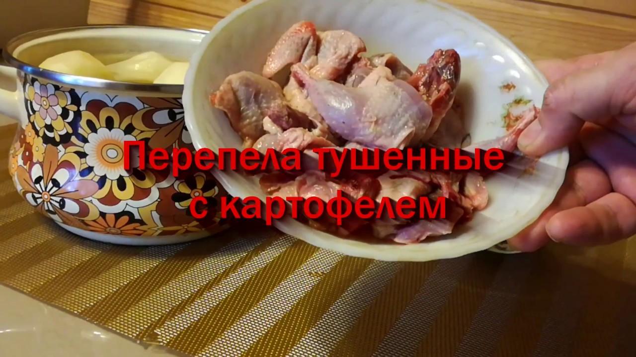 приготовления с видео перепёлки Рецепт картофелем