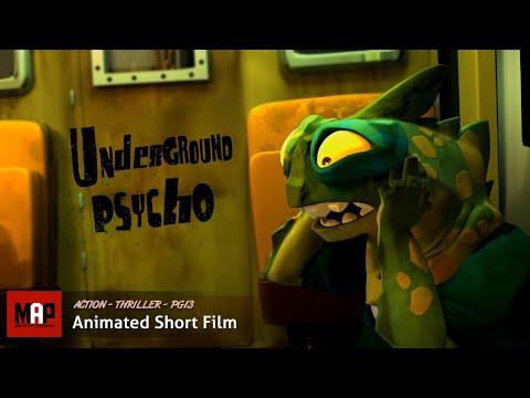 "CGI 3D Animated Short ""UNDERGROUND PSYCHO"" Thrilling Suspense Animation by GOBELINS"